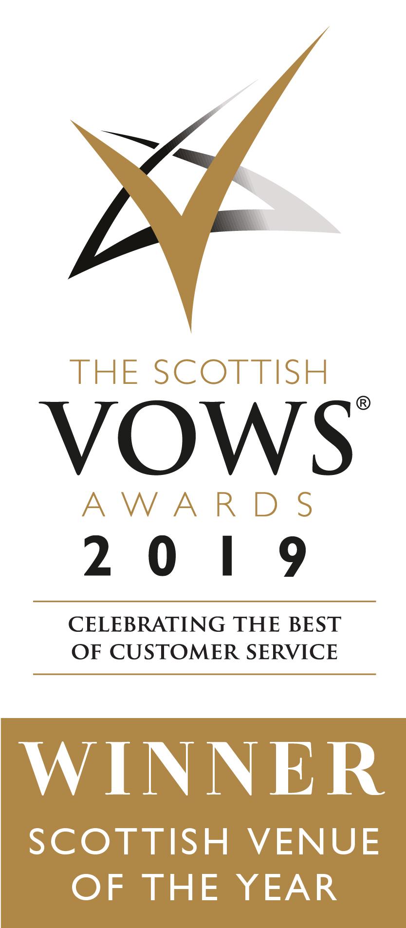 Scottish Vows Awards 2019 Winner