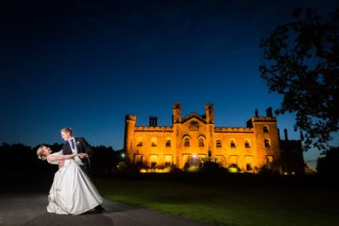 The wedding of Ishbel Gray and George O'Connell, 7th September 2019, St Mary's Cathedral and Dundas Castle. Photographed by First Light Photography